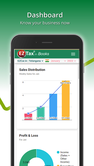 Get EZTax.in GST App on Google Play Android