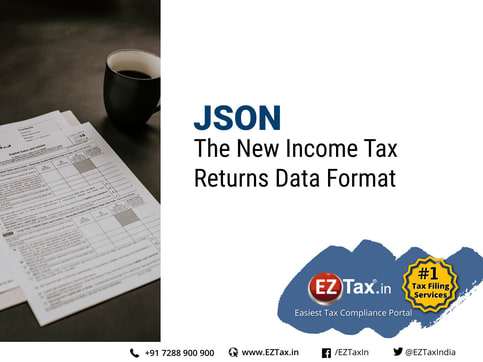 New JSON format from Income Tax Department
